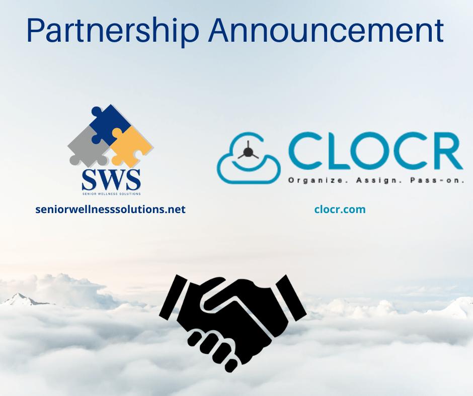 Clocr & Senior Wellness Solutions Strategic Partnership