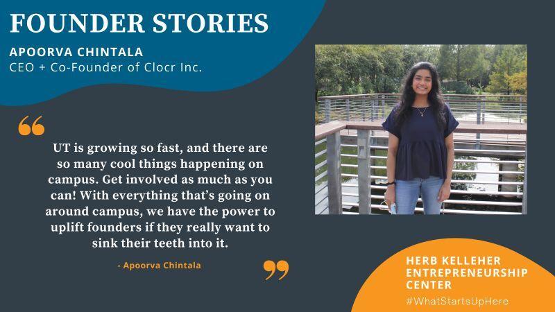 Clocr Featured on Herb Kelleher Entrepreneurship Center!